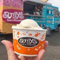 Five pints of Amy's Ice Cream
